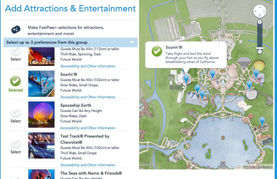 [Walt Disney World Resort] MyMagic+: FastPass+, MyDisneyExperience et MagicBands - Page 5 205986Capturedcran20130820000629