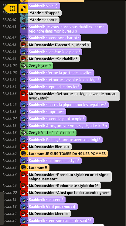[Saabbrrii] Rapports d'actions RP - Infirmier 206313rpdemon6