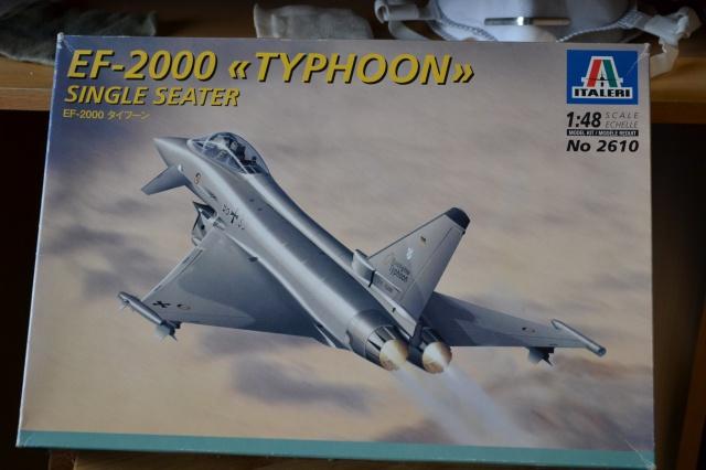 """EF - 2000 """"TYPHOON"""" Single Seater . ITALERI  Echelle 1/48 206314DSC0008"""