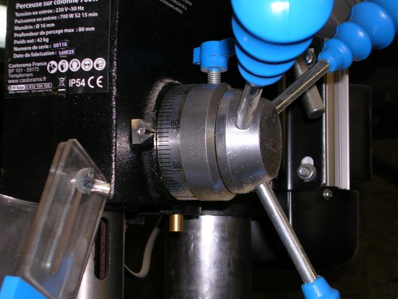 Problème de butée de profondeur de perçeuse sur colonne 206318034
