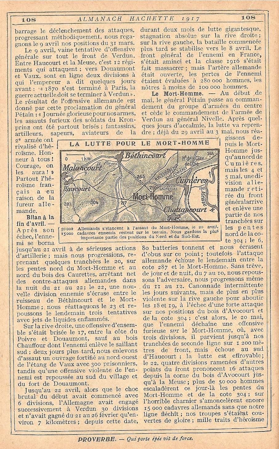 [ Histoires et histoire ] LE CENTENAIRE DE LA GRANDE GUERRE - Page 5 207319Verdun11