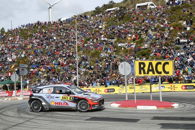 Rallye d'Espagne : Hyundai Motorsport signe son second double podium de la saison 2016  2079451389rallydeespana3