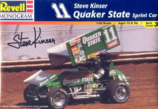 Steve Kinser #11 Quaker State Sprint Car 208680quakerstatesprintcar001