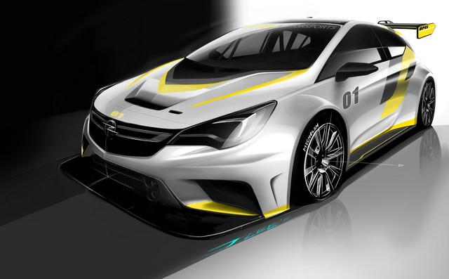 Présentation de la nouvelle Opel Astra TCR aux écuries clientes 210009OpelAstraTCR298014
