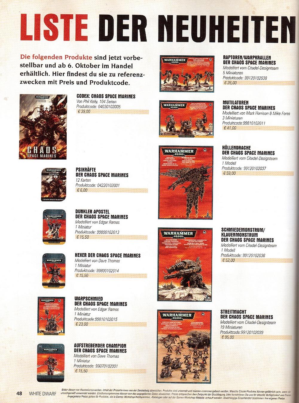Rumeurs Codex Legions du Chaos - Page 3 210639Listgerman