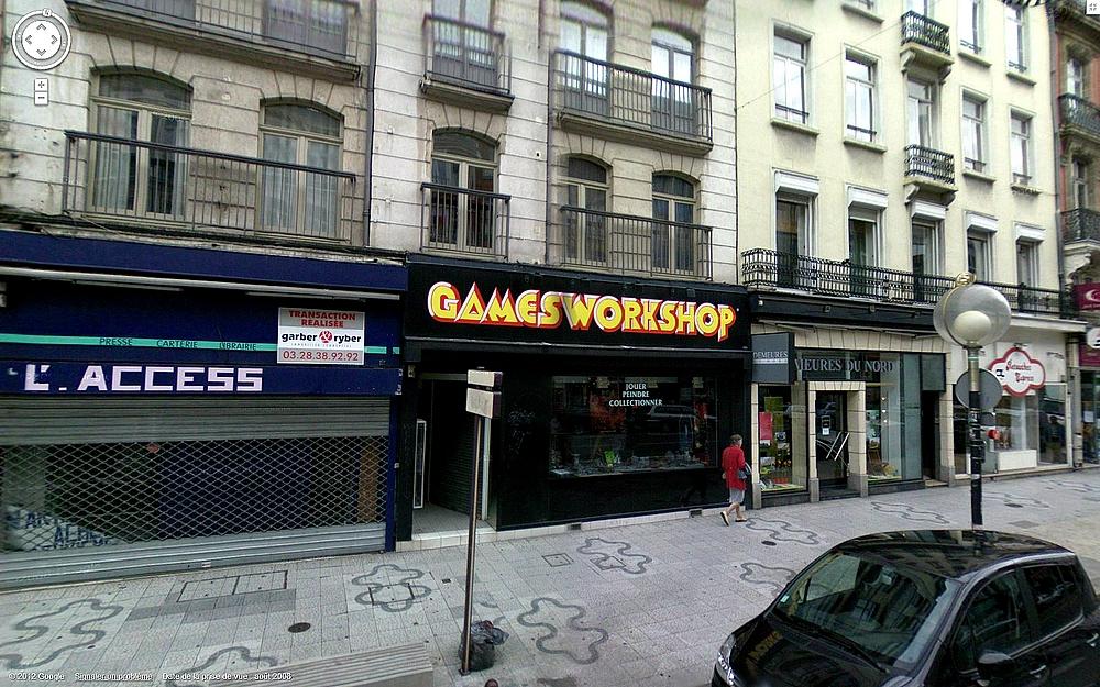 Les Centres Hobby Games Workshop en France et à travers le monde 210816CHGWLille