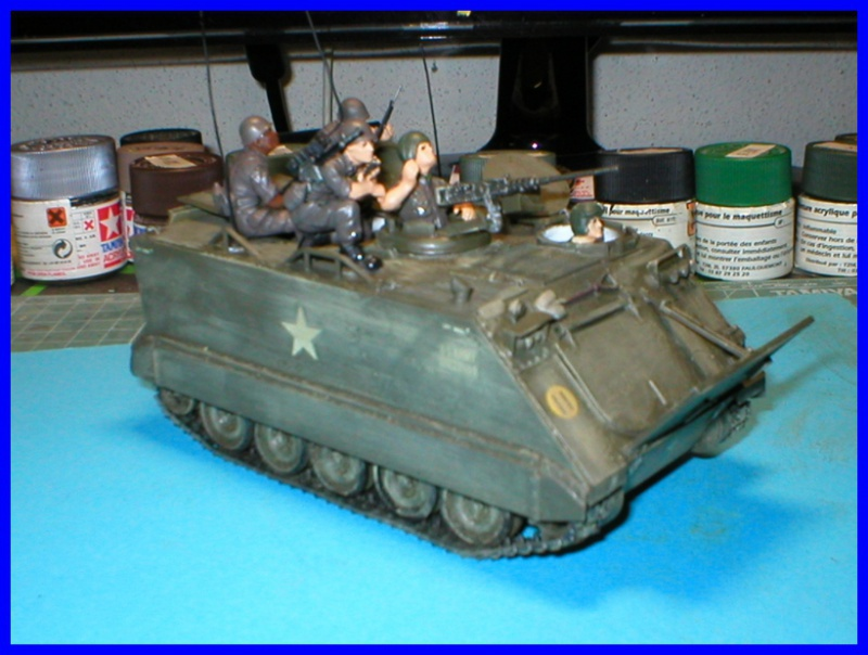 M 113 US ARMOURED PERSONNEL CARRIER 1/35 TAMIYA 211438P1010003800x600
