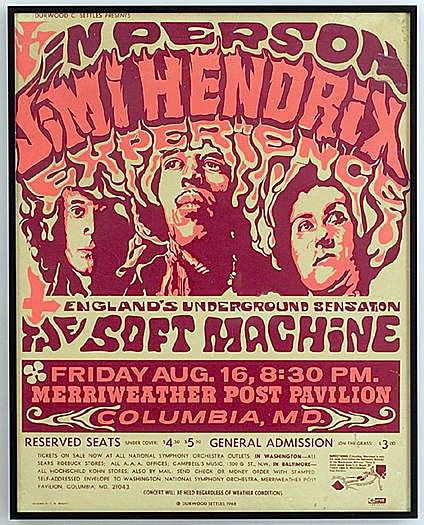 Columbia - Maryland  (Merryweather Post Pavilion)   16 août 1968 211636mdy10th