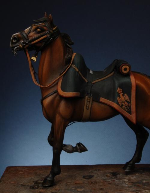 Chasseur a cheval GI - le travail de le vacance 212803coco0075