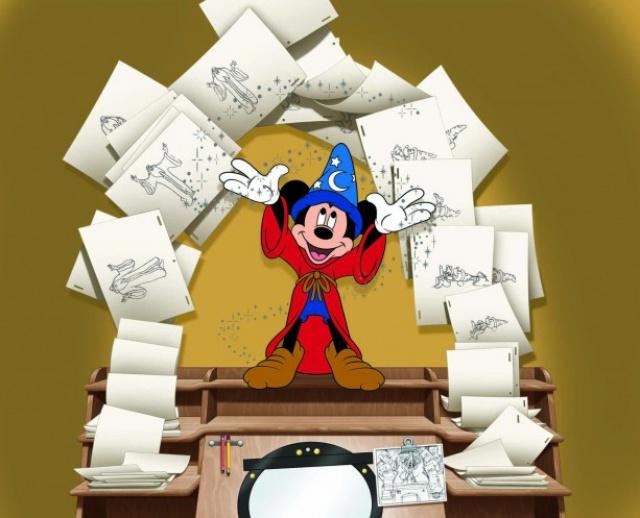 [Disney's Hollywood Studios] Ink & Paint Collection (depuis 1989) 213239cel2
