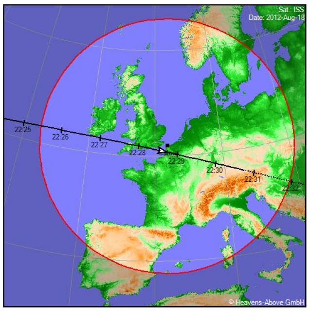 2012: le 18/08 à 22h30 - Lumière étrange dans le ciel  - Calais (62)  213641yoh442713