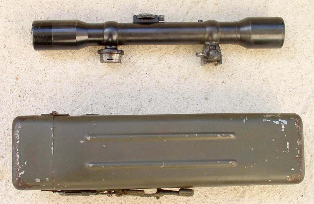 L'arme du tireur d'élite allemand de la Wehrmacht (1939-1945) : le Mauser K98k 214001zf3911