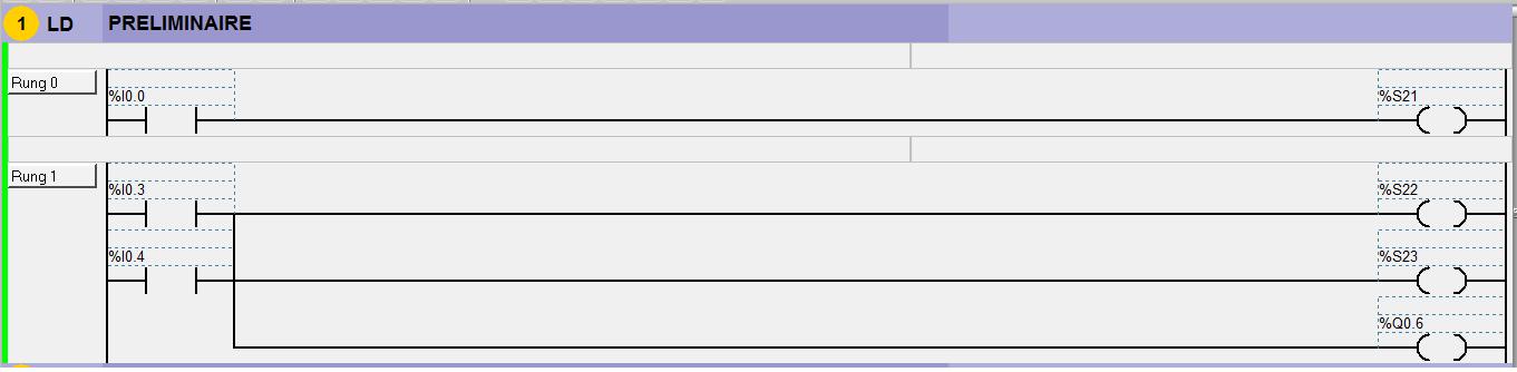 Programme automate sous TWIDO 214383PRL