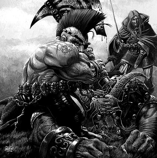 [Warhammer Fantasy Battle] Images diverses 217812Gotrek4