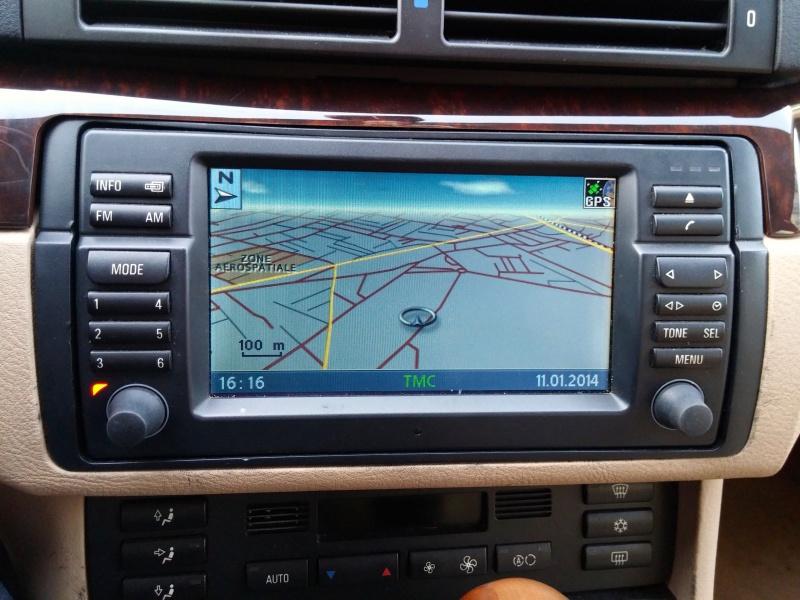 [TUTO toutes BMW jusqu'à 2003] Les menus du GPS mk4 (notions 218718EcranGPS