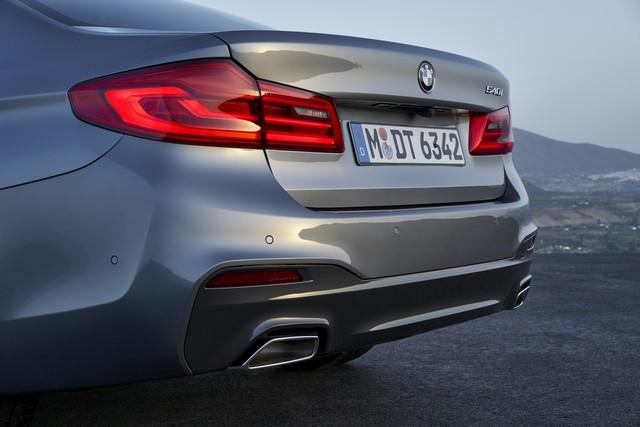 La nouvelle BMW Série 5 Berline. Plus légère, plus dynamique, plus sobre et entièrement interconnectée 219106P90237203highResthenewbmw5series