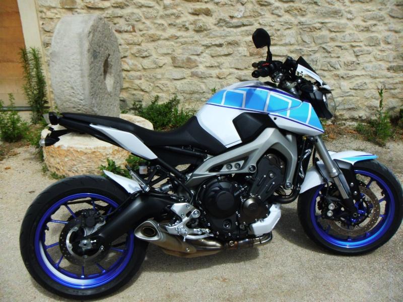 Photos de toutes les Yamaha MT-09 du forum ! :) 219887YSecew
