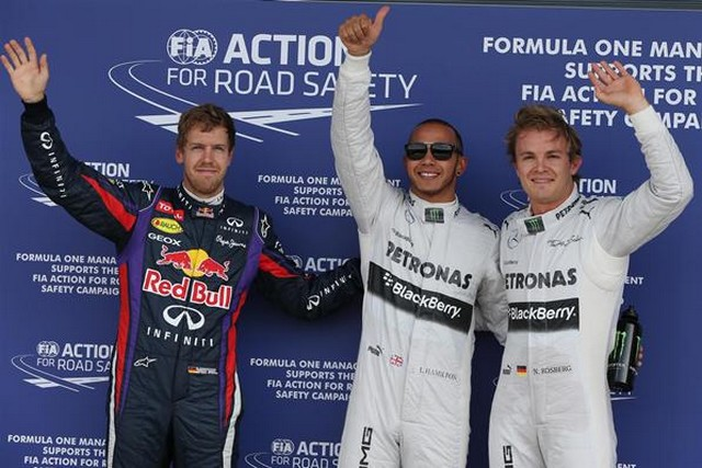 F1 GP de Grande-Bretagne 2013 : (essais libres-1-2-3-Qualifications) 2218762013SebastianVettelLewisHamiltonNicoRosberg