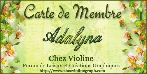 Carte de membre 223198Adalyna