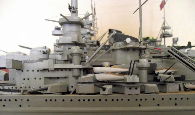 Croiseur de bataille Gneisenau Heller au 1x400 224095DSCF1422