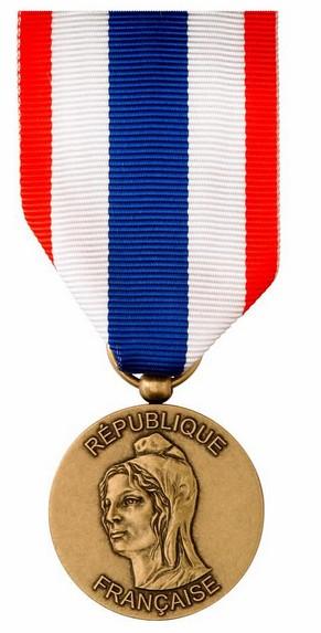 [ Logos - Tapes - Insignes ] Une nouvelle médaille de la protection militaire du territoire 224499Recto