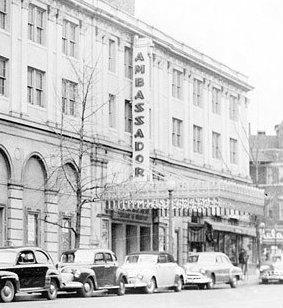Washington (Ambassador Theatre) : 9-10-11-12 août 1967  224921ambassadortheatre
