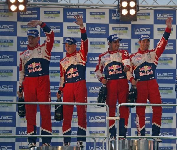 WRC Rallye de Finlande 2012 (jour-3) Victoire : Sébastien Loeb 2282432012rallyedefinlandeloebElena4
