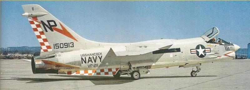 VOUGHT F-8 CRUSADER  229621VoughtF8JCrusaderVF211