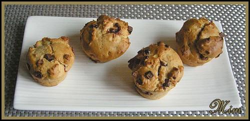 Muffins beurre de cacahuètes et pépites chocolat  230006Muffinsaubeurredecacahuteetppitecechoc181108003