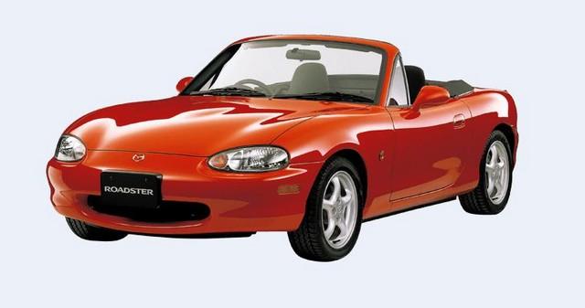 Mazda a mis en ligne un site pour le 25e anniversaire de sa MX-5 230439madza1998