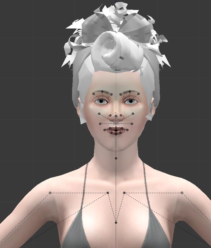 [Apprenti] [Blender 2.6 et 2.7] Changer la coiffure d'un rig Sims 3 233130blender4