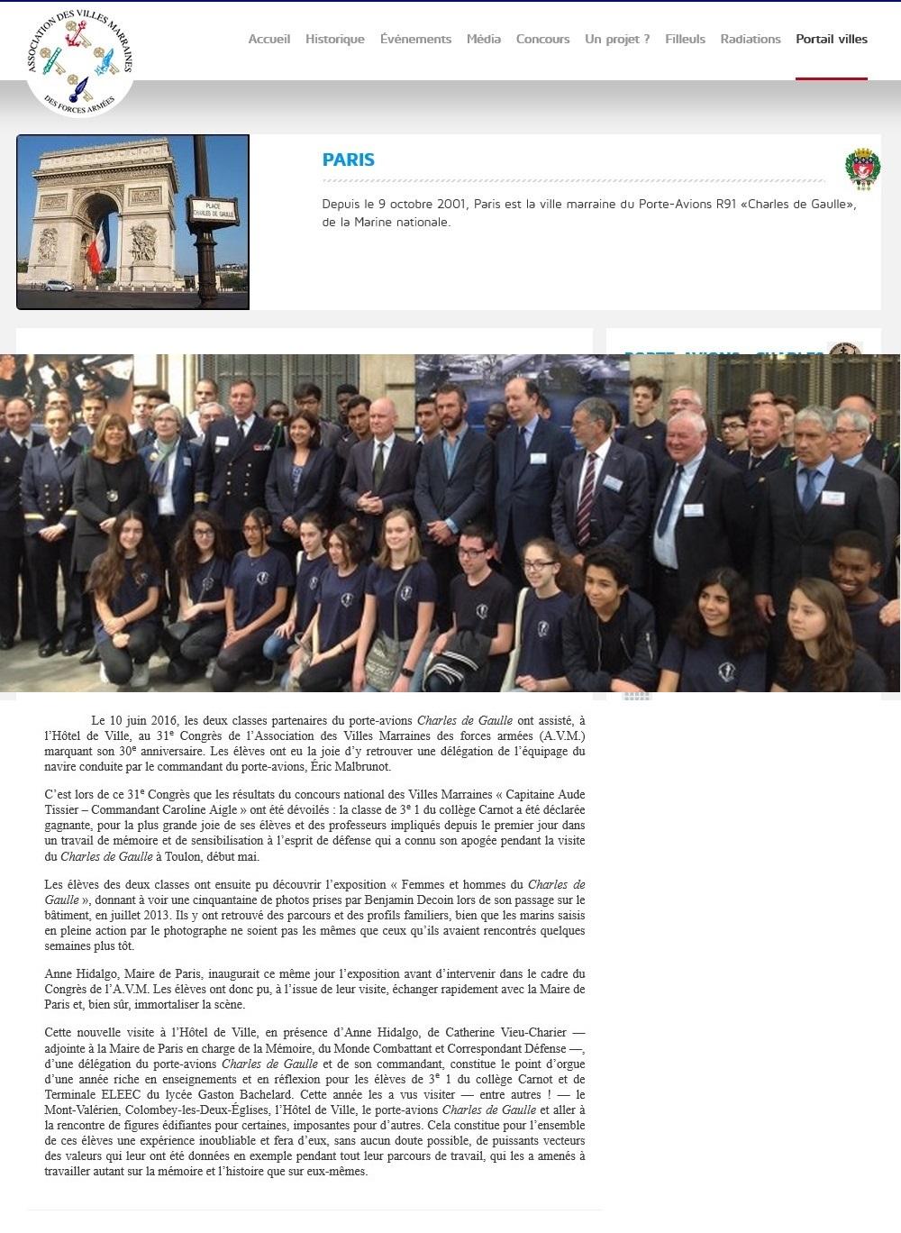 [Les traditions dans la Marine] Les Villes Marraines - Page 6 233231931