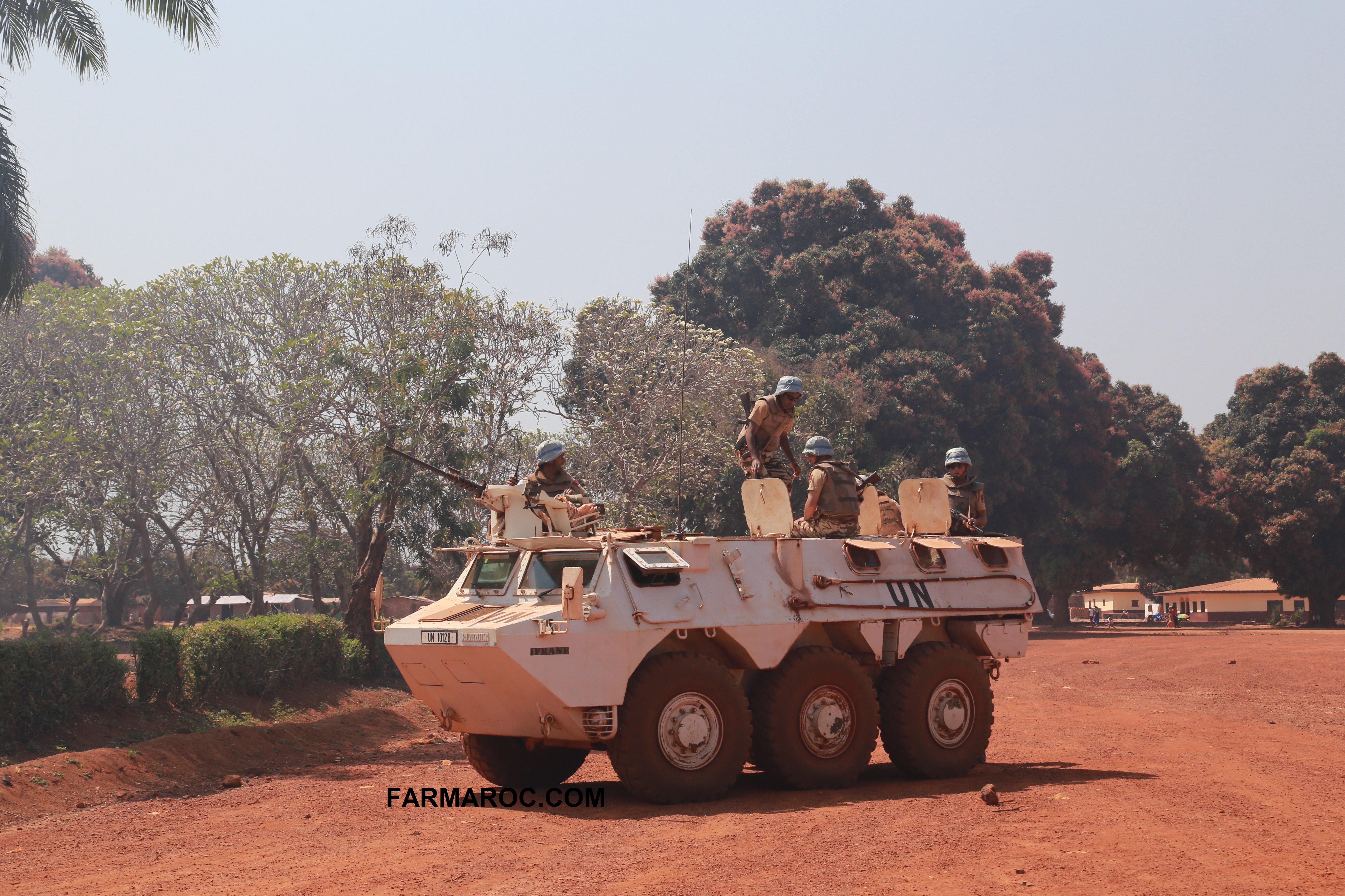 Maintien de la paix dans le monde - Les FAR en République Centrafricaine - RCA (MINUSCA) - Page 3 23560623441187163414ee29401o