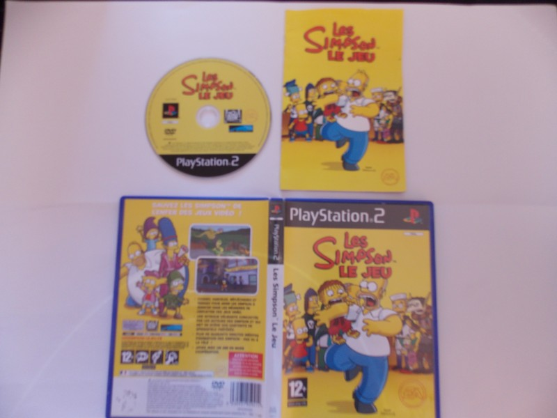 Les Simpson : Le Jeu 237059Playstation2LesSimpsonsleJeu