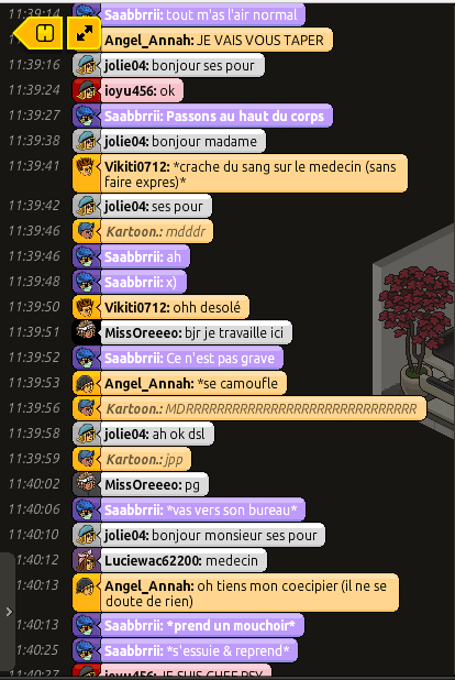 [Saabbrrii] Rapports d'actions RP - Infirmier 237856rp6
