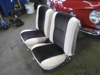 Rénovation de sièges avant sur Type 34 239849Siges3