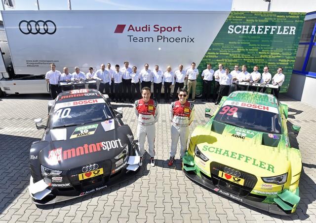 Les équipes Audi Sport sont prêtes pour l'ouverture de la saison de DTM 240031A163115medium