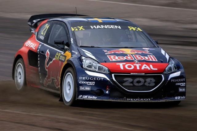 Les PEUGEOT 208 WRX enflamment la Suède - 2ème et 3ème en World RX et victoire en EURO RX 241945wrx201607010015