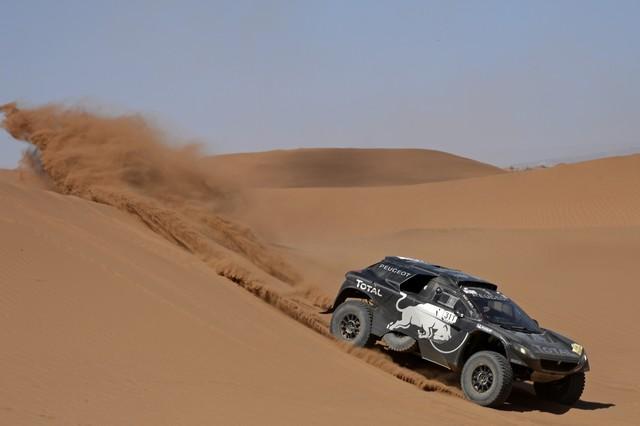Team Peugeot Total : Rallye du Maroc / ETAPE 2 : Boucle du Drâa 242425561406da63ba7