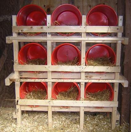 Quelques modèles de pondoirs pour nos poules 243374bucketsetup