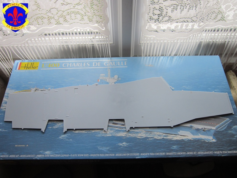 Porte avions Charles De Gaulle au 1/400 d'Heller 243435IMG25101