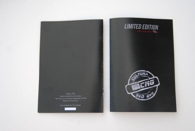 Stick Neo-Geo Oakem studio - Edition Limitée à 10 exemplaires  243964stickN5