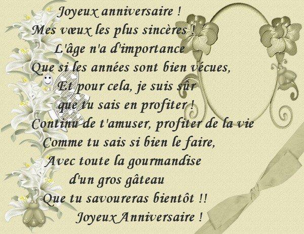 Joyeux anniversaire Frisquette 248031801