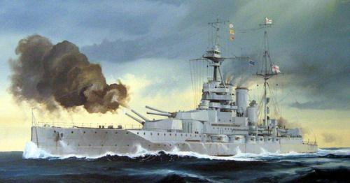 HMS Queen Elisabeth 1918 - Trumpeter - 1/700 248155HSMQE