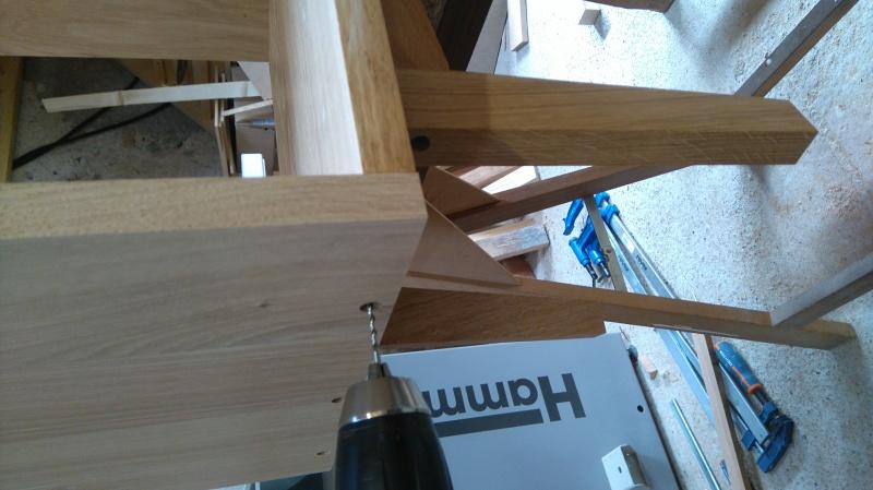 Création d'un meuble en chêne pour le salon 248689DSC0007