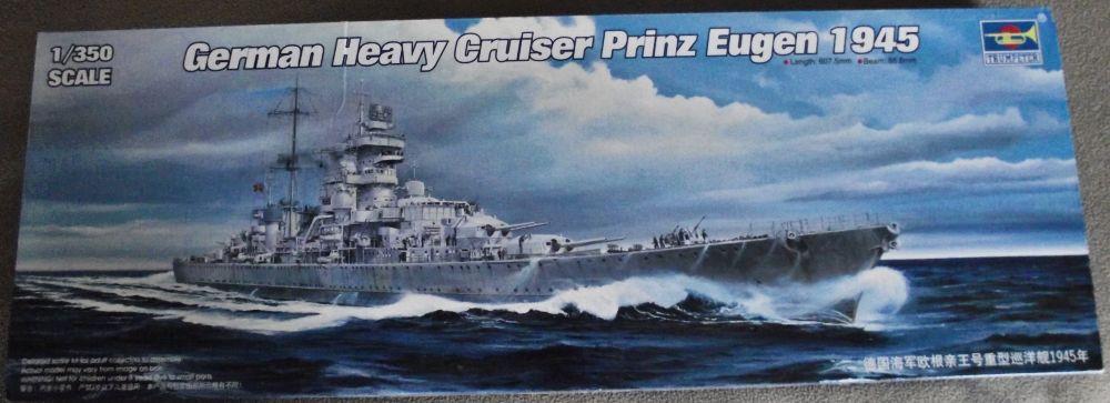 Prinz Eugen Trumpetter 1/350  250438PrinzEugenTrumpeter1x3501