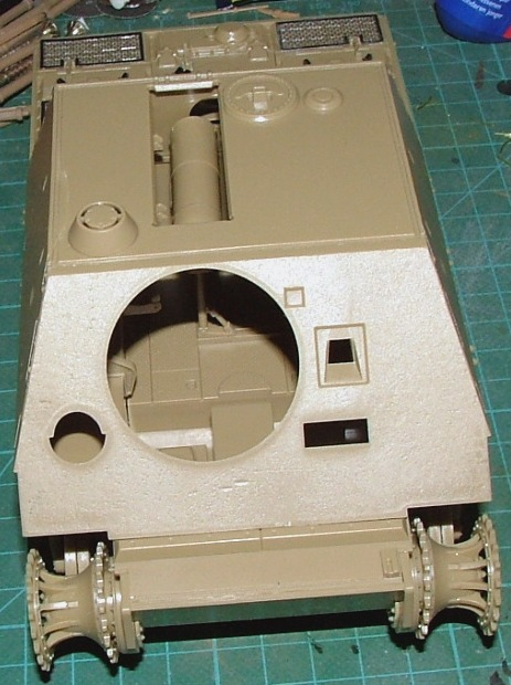 STURMTIGER [ TAMIYA 177 ] +Photodécoupe [ EDUARD 35381 & 35366]  (Montage en cours) 251211DSCF0601