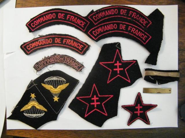 Caporal-Chef Jacques/Jacob Ehrenkranz : commandos de France 1944-1945 251670insignesJourquinLaurent3