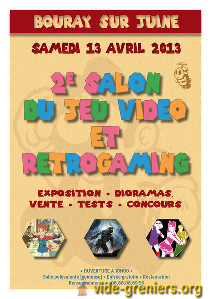 Salon Retro-Gaming dans le 91 ^-^ 252110expo
