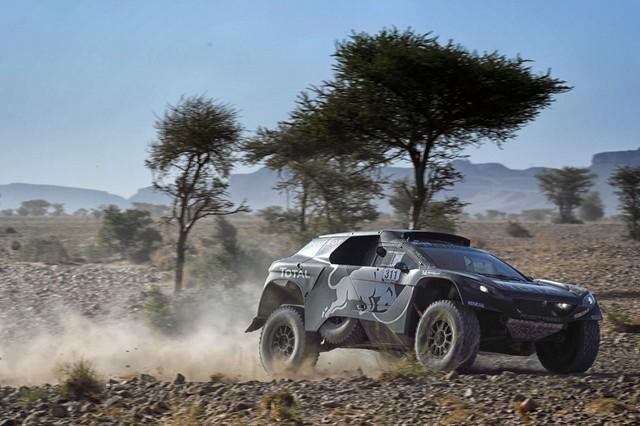 Team Peugeot Total : Rallye du Maroc / ETAPE 2 : Boucle du Drâa 25242605315002050